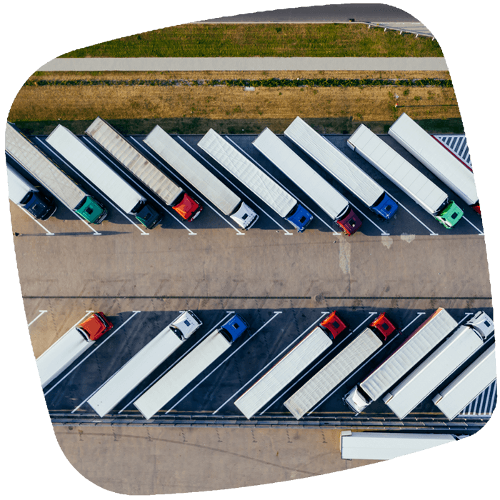 lorries - part of supply chain